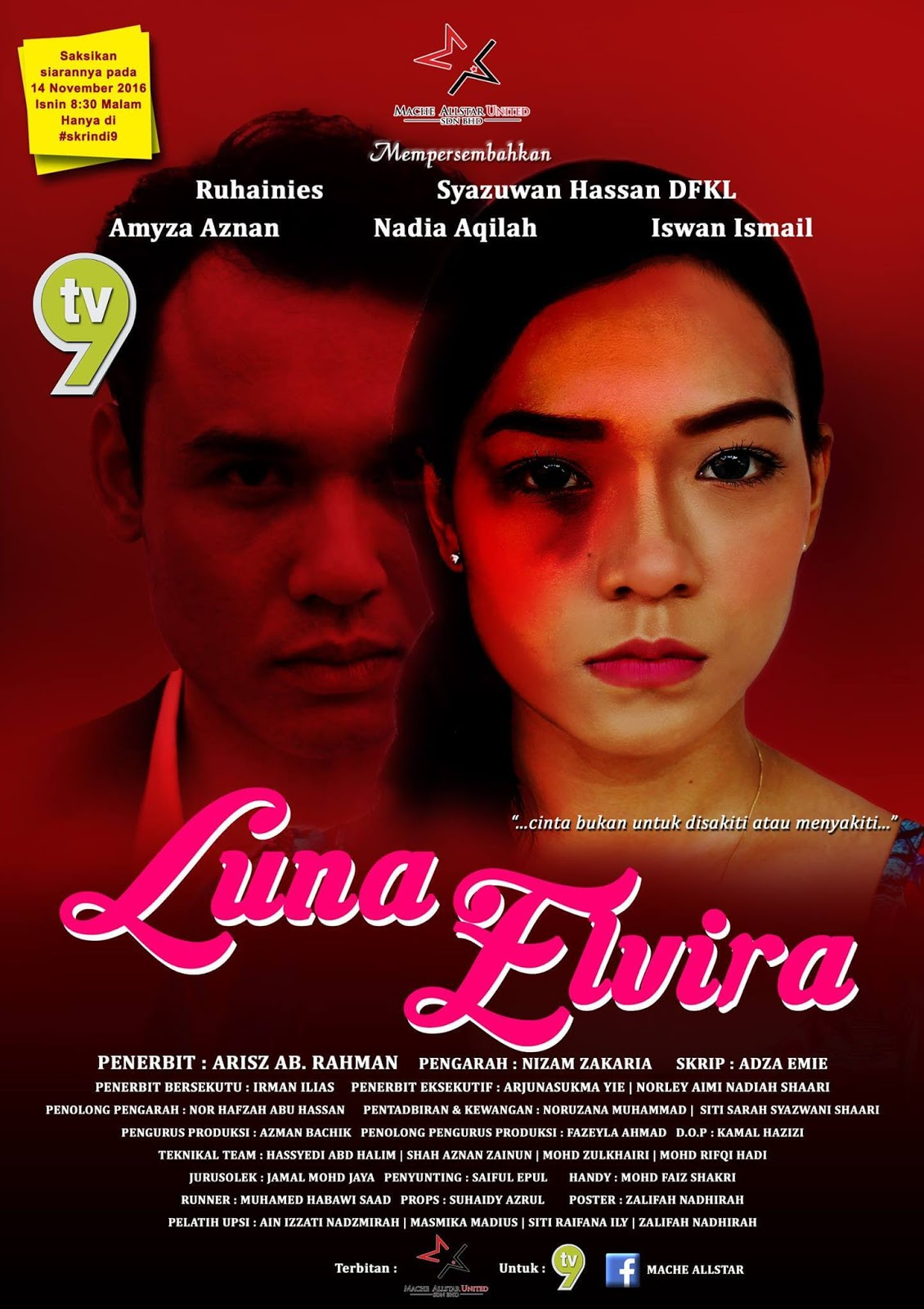 Luna Elvira Telemovie