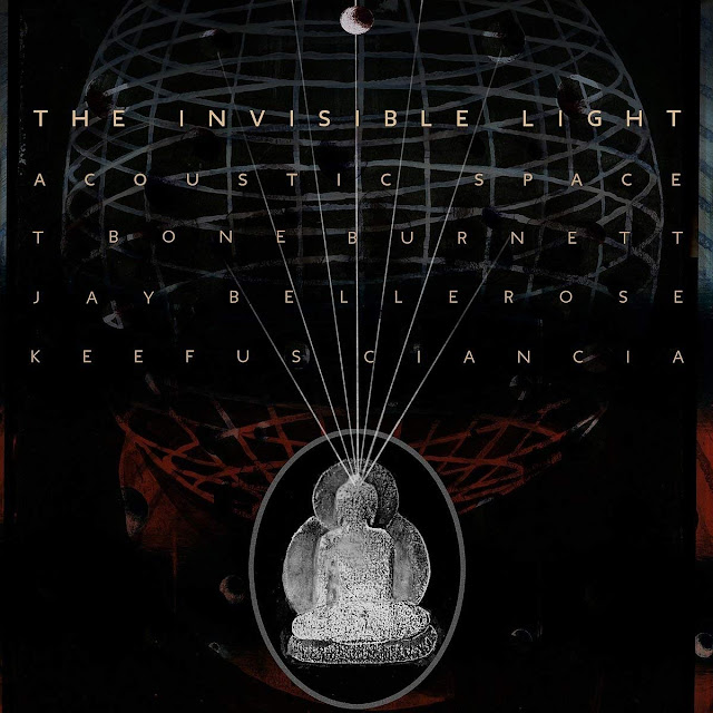 """Music Television presents the music video by by T Bone Burnett, Jay Bellerose and Keefus Ciancia for their song titled """"Being There"""", from the album titled Invisible Light: Acoustic Space."""
