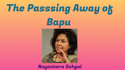 "Madhyamik English MCQ Practice from ""The Passing Away of Bapu"""