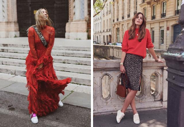 Как носить красный цвет и не выглядеть вульгарно