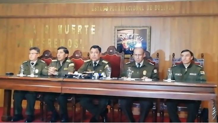 Comando Nacional quiere limpiar imagen del verde olivo depurando a justos y pecadores / CAPTURA ERBOL
