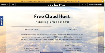 web hosting gratis paling rekomended 2018