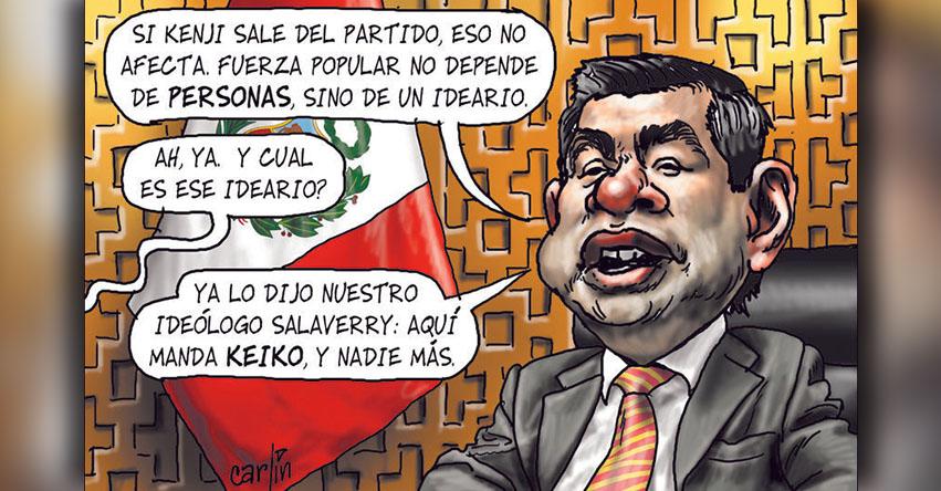 Carlincaturas Lunes 22 Enero 2018 - La República