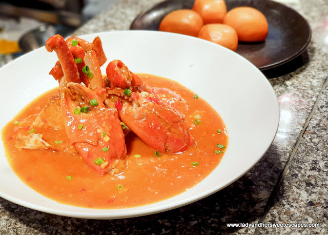 Chili Crab in 24th St Dusit Thani Dubai