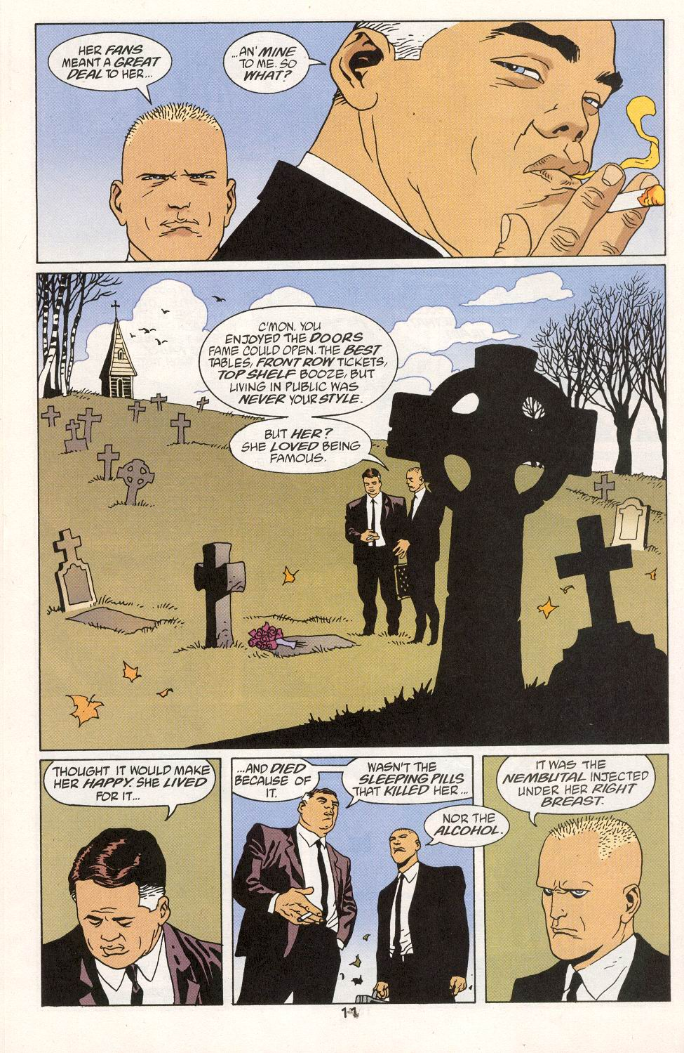 Read online 100 Bullets comic -  Issue #27 - 13