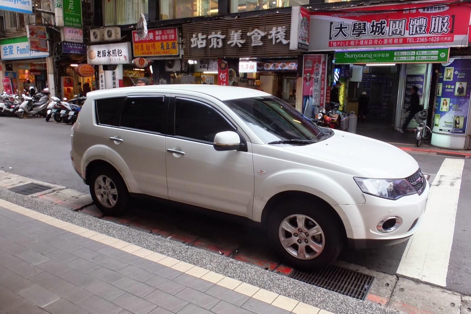 Taiwan-outlander 台湾アウトランダー(後期型)