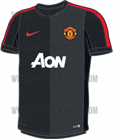 premium selection 0ab7d 8437d Manchester United 14-15 Training and Prematch Shirts Leaked ...