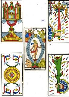 composition du livre, arcanes majeures, arcanes mineures