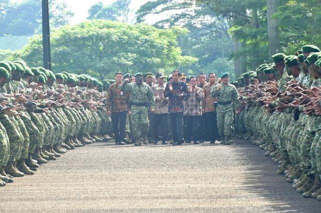 Kesiapan Pasukan TNI Memberikan Rasa Aman Bagi Rakyat Indonesia
