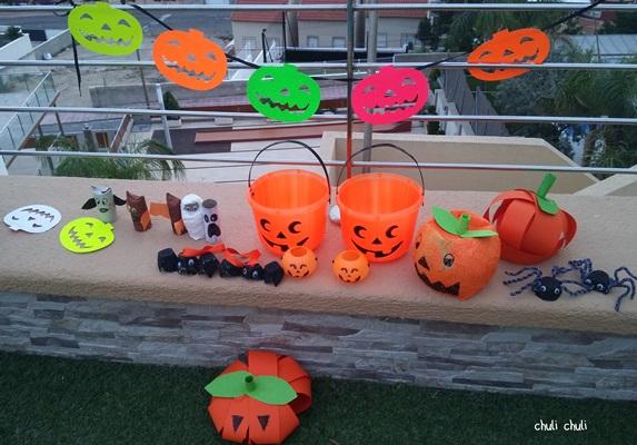 nuestras cosas de halloween diy y compradas