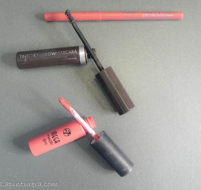 labios y cejas productos