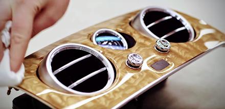 Wie das Interior von Bentley hergestellt wird | Bentley Luxury Car Factory - Wood Shop