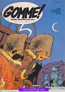 Gomme!, numéro 10, 1982, Bastos et Zakousky