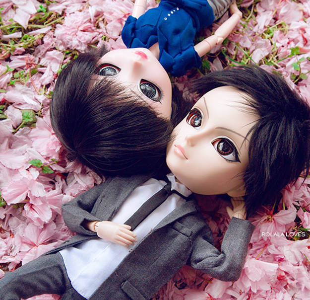 Cute Doll Couple, Pullip Doll Couple