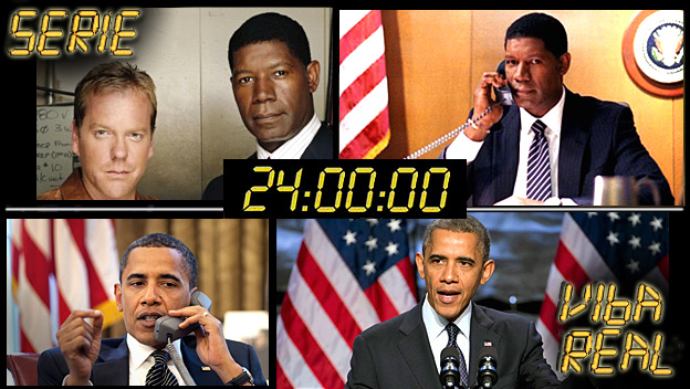 Profecias série 24 Horas - 1º Presidente Negro