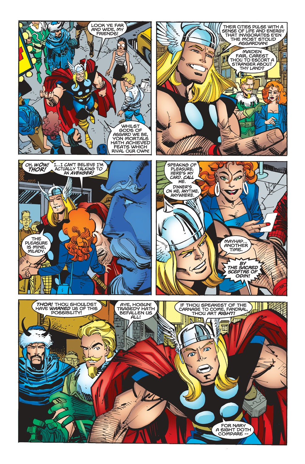 Thor (1998) Issue #28 #29 - English 6