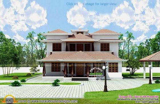 Kerala traditional home