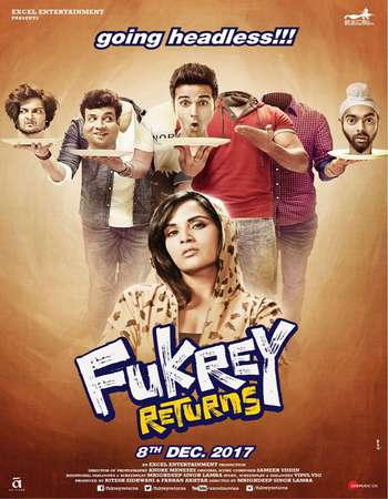Fukrey Returns 2017 Full Hindi Movie HDRip Download