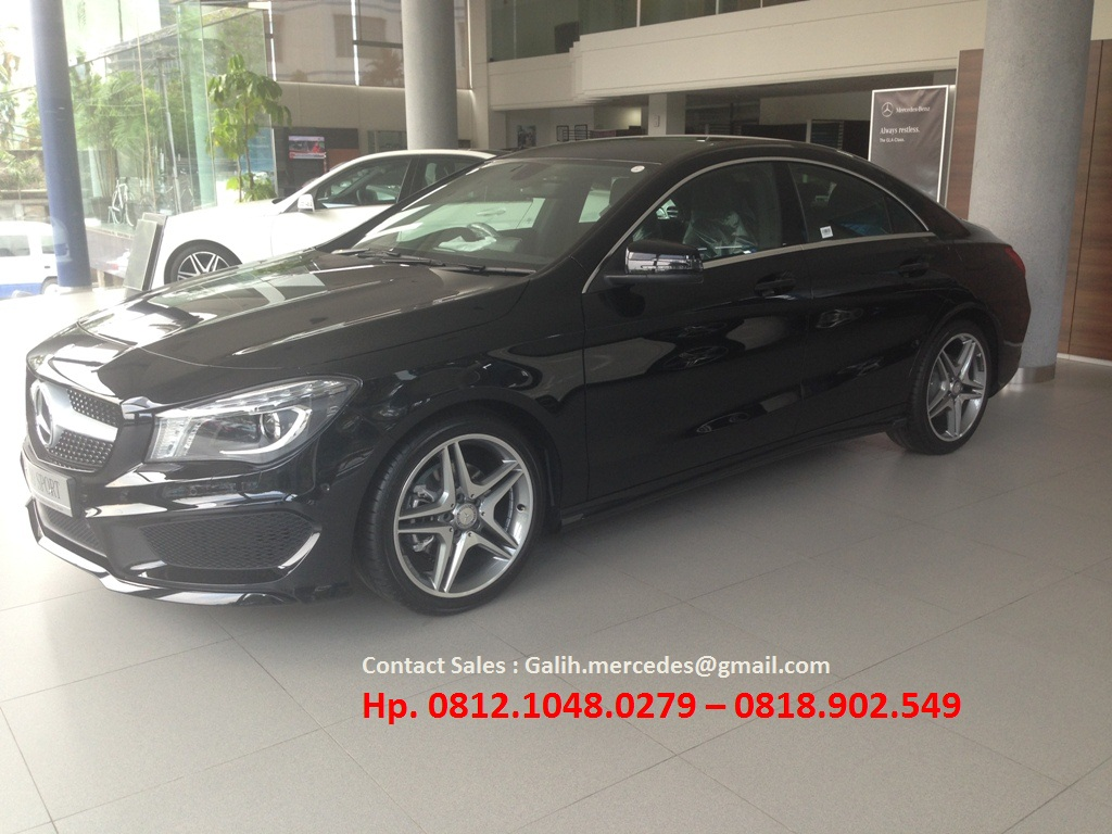 New mercedes benz cla 200 sport 2016 indonesia dealer for Dealer mercedes benz
