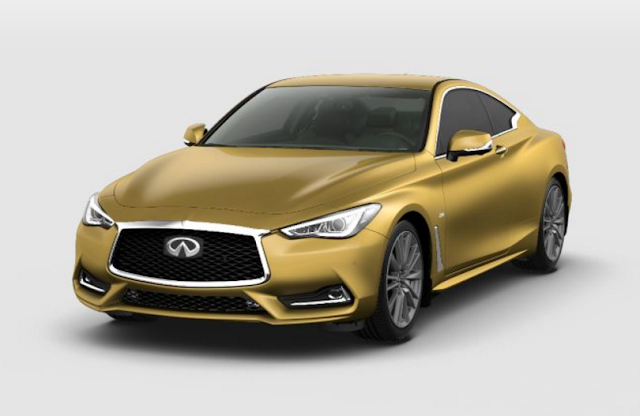 Infiniti Q60 2018 Couleurs Colors