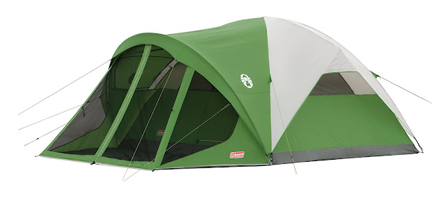 Great value and function from Coleman Evanston tent