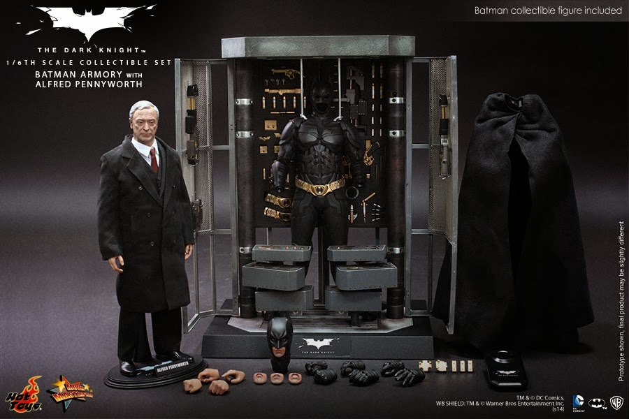 figurine statuette hot toys batman