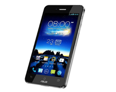 Asus PadFone Infinity Lite Specifications - LAUNCH Announced 2014, February DISPLAY Type IPS+ LCD capacitive touchscreen, 16M colors Size 5.0 inches (~66.0% screen-to-body ratio) Resolution 1080 x 1920 pixels (~441 ppi pixel density) Multitouch Yes, up to 10 fingers BODY Dimensions 143.5 x 72.8 x 8.9 mm (5.65 x 2.87 x 0.35 in) Weight 145 g (5.11 oz) SIM Yes  - Padfone Station with 10.1 inches IPS display, 1920 x 1200 pixels, 5000 mAh battery, front camera. 264.6 x 181.6 x 10.6 mm, 532 grams. PLATFORM OS Android OS, v4.1 (Jelly Bean) CPU Quad-core 1.7 GHz Krait Chipset Qualcomm Snapdragon 600 GPU Adreno 320 MEMORY Card slot microSD, up to 64 GB (dedicated slot) Internal 16/32 GB, 2 GB RAM CAMERA Primary 13 MP, autofocus, LED flash Secondary 2 MP, 1080p@30fps Features Geo-tagging, touch focus, face detection Video 1080p@30fps NETWORK Technology GSM / HSPA / LTE 2G bands GSM 850 / 900 / 1800 / 1900 3G bands HSDPA 850 / 900 / 1900 / 2100 4G bands LTE band 3(1800), 7(2600), 20(800) Speed HSPA 42.2/5.76 Mbps, LTE Cat4 150/50 Mbps GPRS Class 10 EDGE Class 10 COMMS WLAN Wi-Fi 802.11 a/b/g/n/ac, dual-band, Wi-Fi Direct, hotspot NFC Yes GPS Yes, with A-GPS, GLONASS USB microUSB v2.0 (SlimPort TV-out), USB Host Radio FM radio Bluetooth v4.0, A2DP FEATURES Sensors Accelerometer, gyro, proximity, compass Messaging SMS(threaded view), MMS, Email, Push Email, IM Browser HTML5 Java No SOUND Alert types Vibration; MP3, WAV ringtones Loudspeaker Yes 3.5mm jack Yes - Active noise cancellation with dedicated mic BATTERY  Non-removable Li-Po 2400 mAh battery Stand-by Up to 410 h (3G) Talk time Up to 19 h (3G) Music play  MISC Colors Titanium Black, Platinum White  - ASUS WebStorage (50 GB storage) - MP3/WAV/eAAC+ player - MP4/H.264 player - Document viewer - Photo viewer/editor - Voice memo/dial