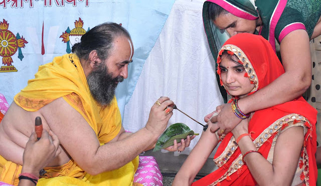 Sri Siddhada Ashram, 128 people took initiation
