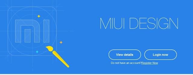 Cara Daftar MIUI Theme Designer Xiaomi TERBARU 2017
