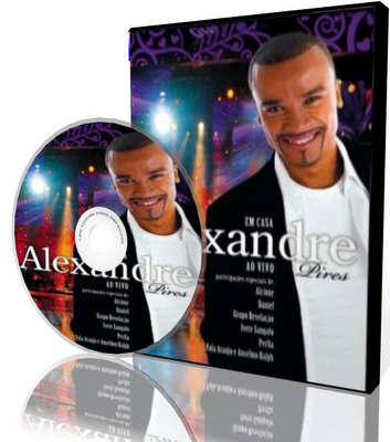 DVD Alexandre Pires - Em Casa (2009)