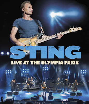 Sting: Live At The Olympia Paris - cover