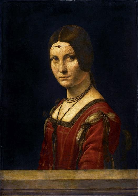 La Belle Ferronière (1490-96)