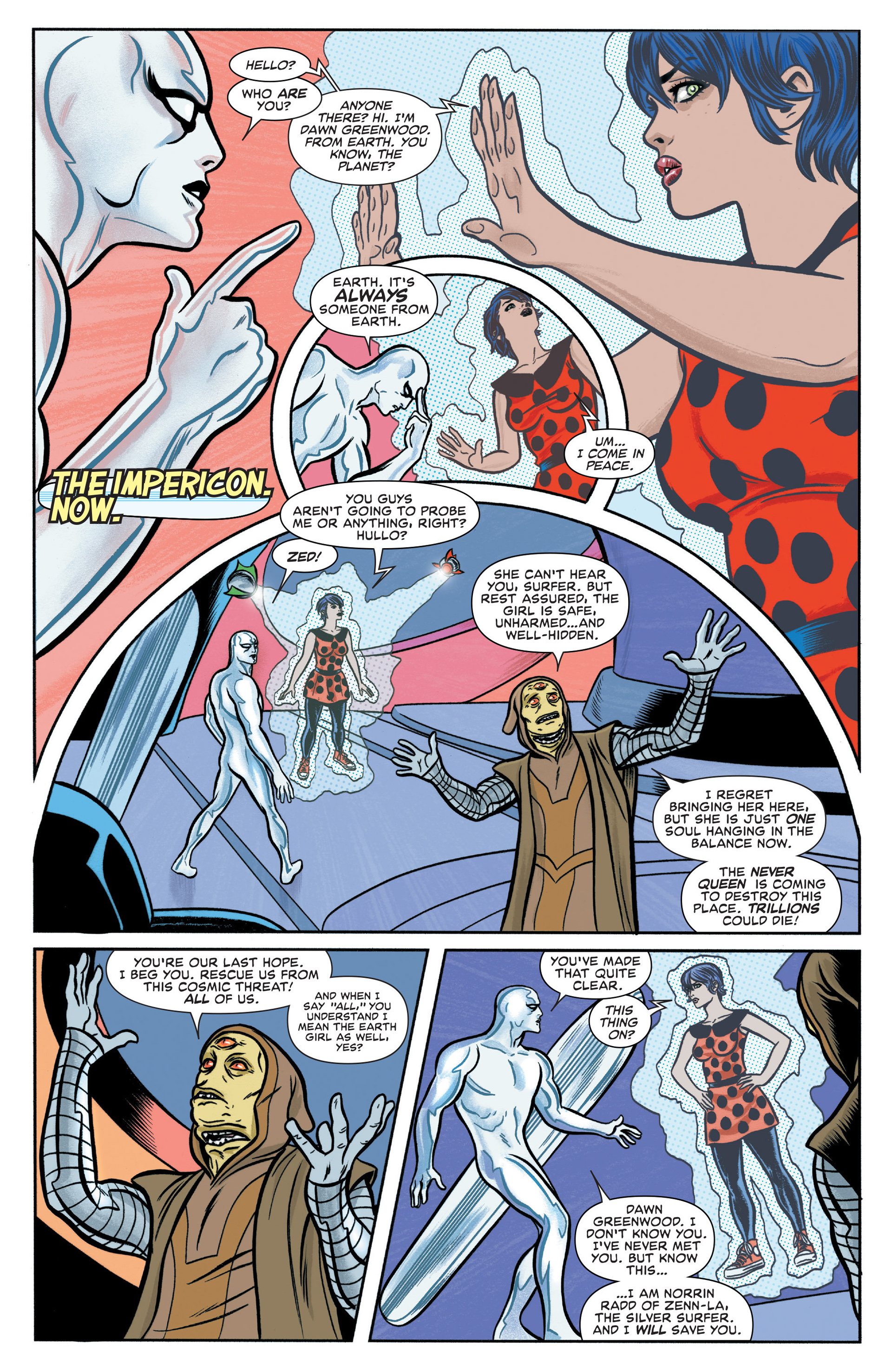Read online Silver Surfer (2014) comic -  Issue #2 - 4