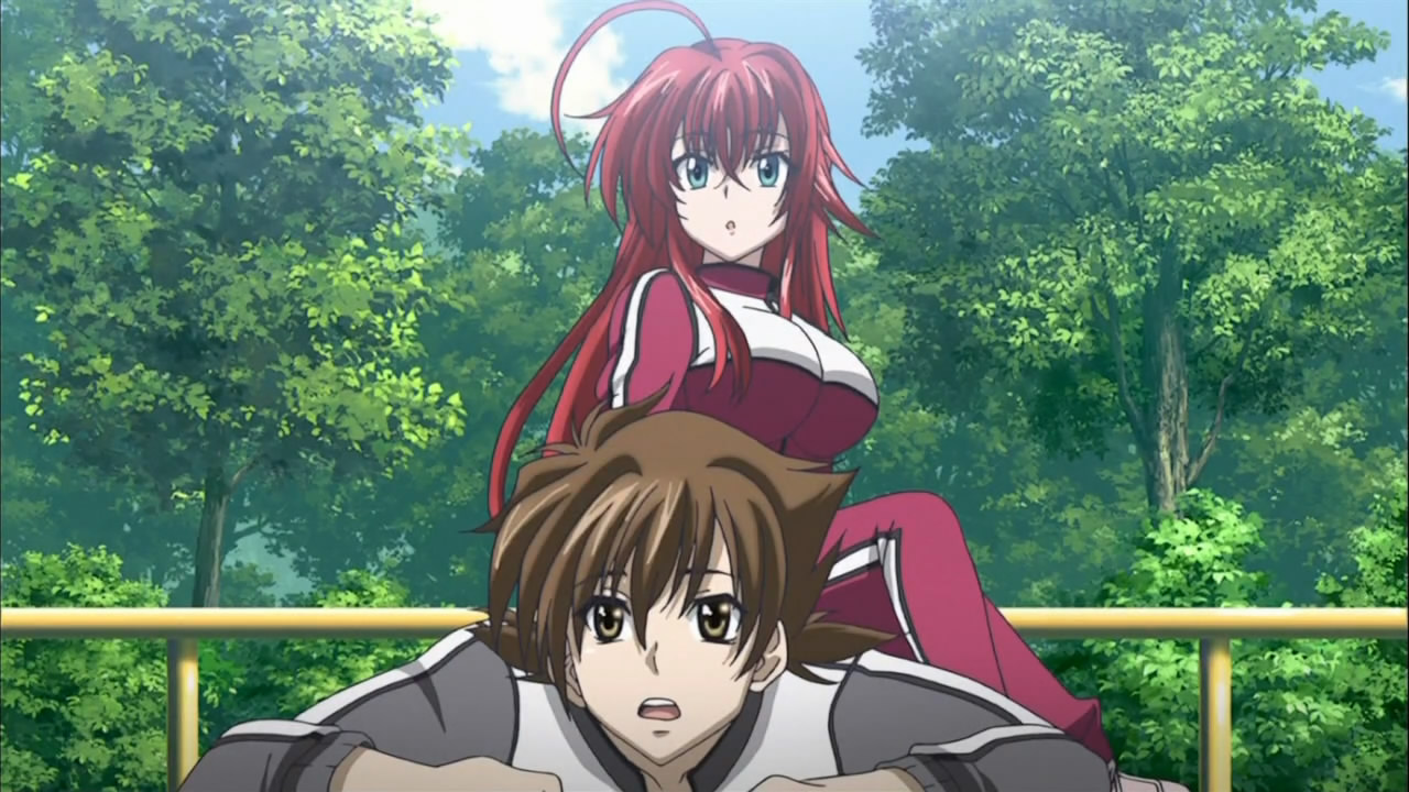Anime weekly high school dxd episode 06 - Highschool dxd myanimelist ...