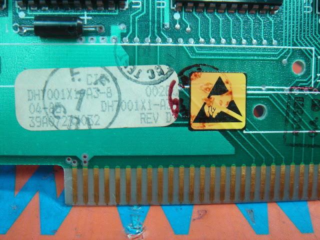 FISHER ROSEMOUNT COMMON RAM CARD REV.D DH7001X1-A3-8 / 39A0727X032
