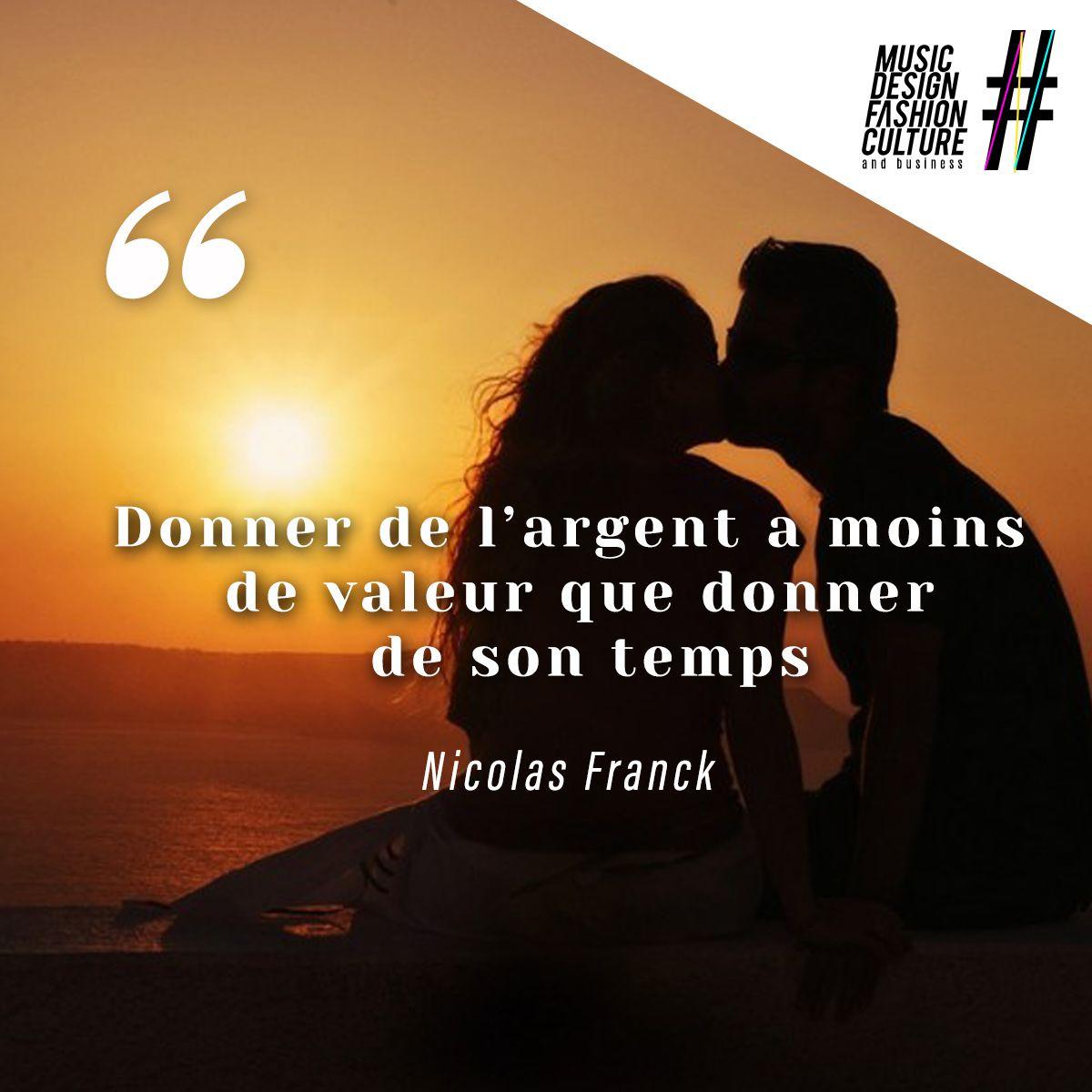Citation positive de Franck Nicolas