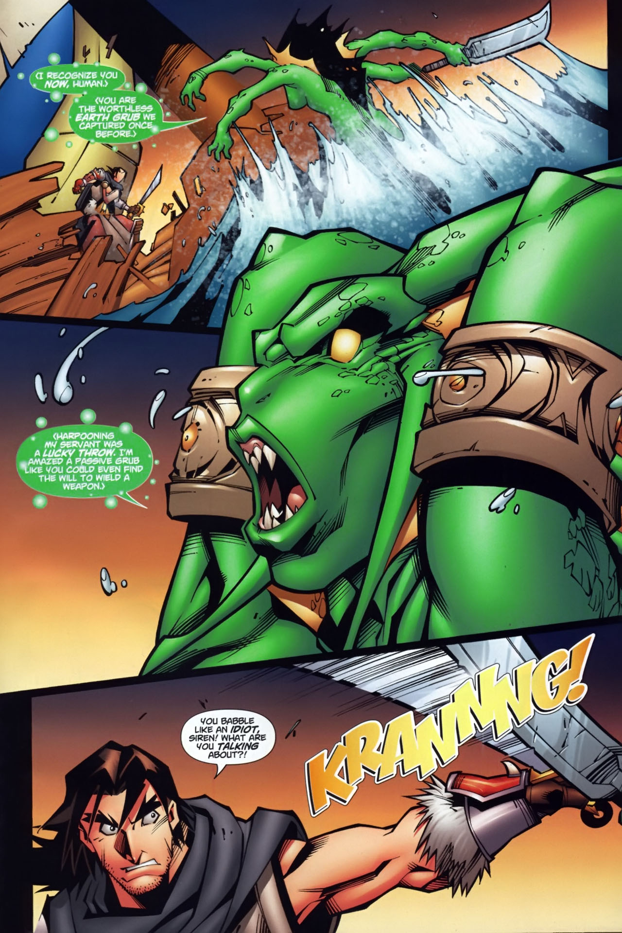 Read online World of Warcraft comic -  Issue #7 - 16