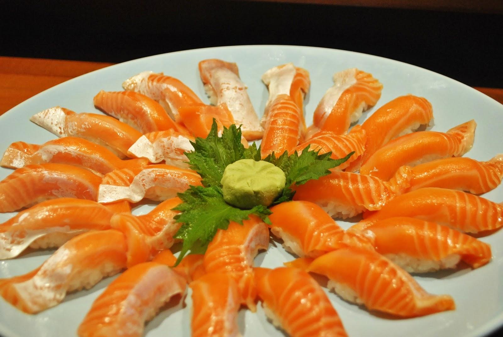 Sushi Masa - Penjaringan : Tak Terlupa Sepanjang MASA - Salmon Belly