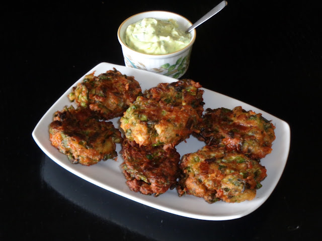 Recipe for Greek Asparagus Fritters