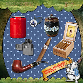 Smoking man Deco Dandies freebie