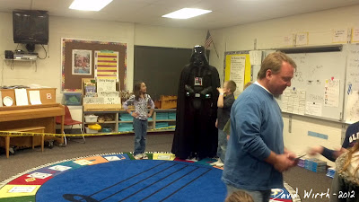 Darth Vader at School