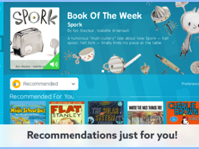 A Huge eBook Library for Kids 12 and Under