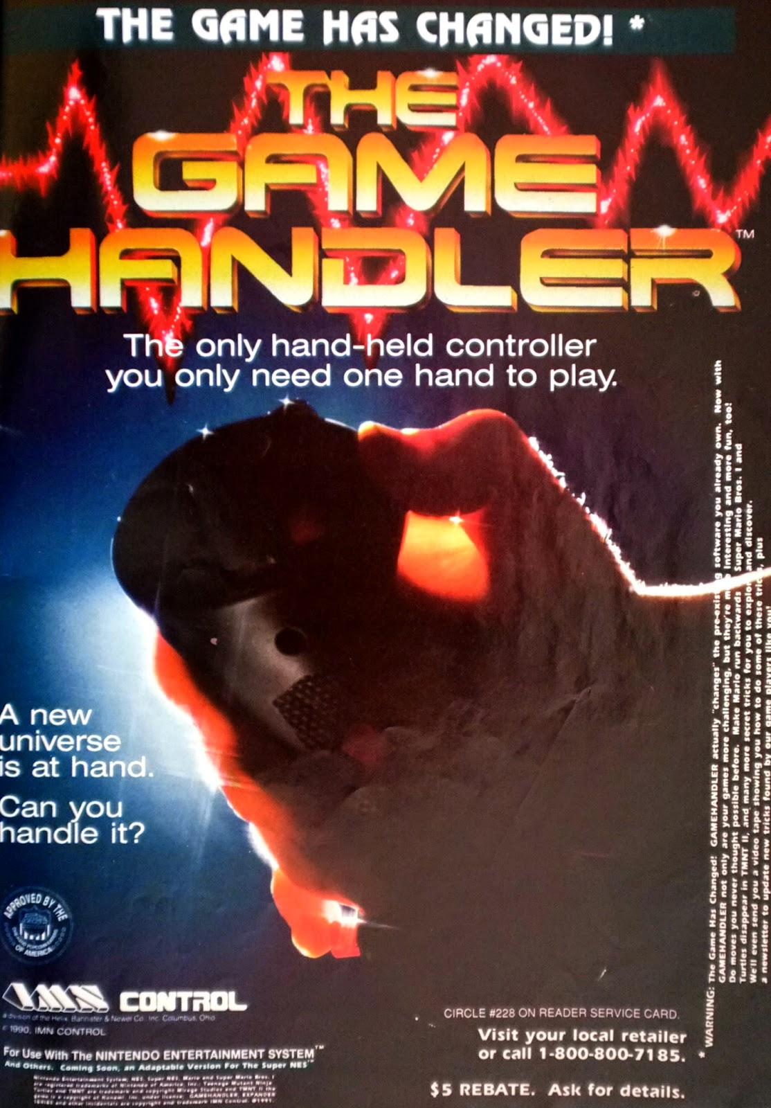 The Game Handler advertisement