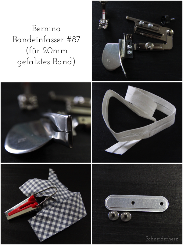 Bernina Bandeinfasser 87 Collage