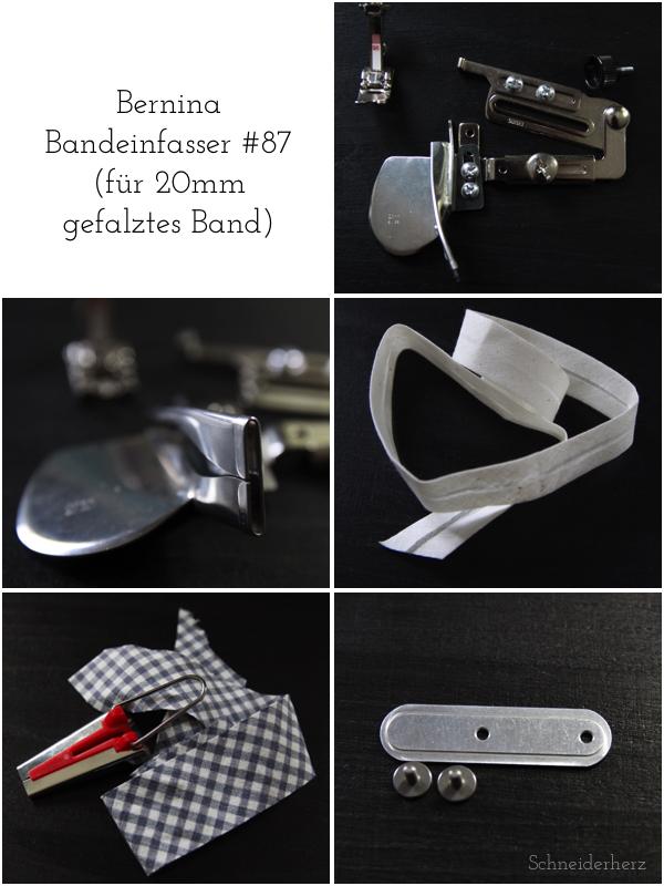 Bernina Bandeinfasser 87 Collage