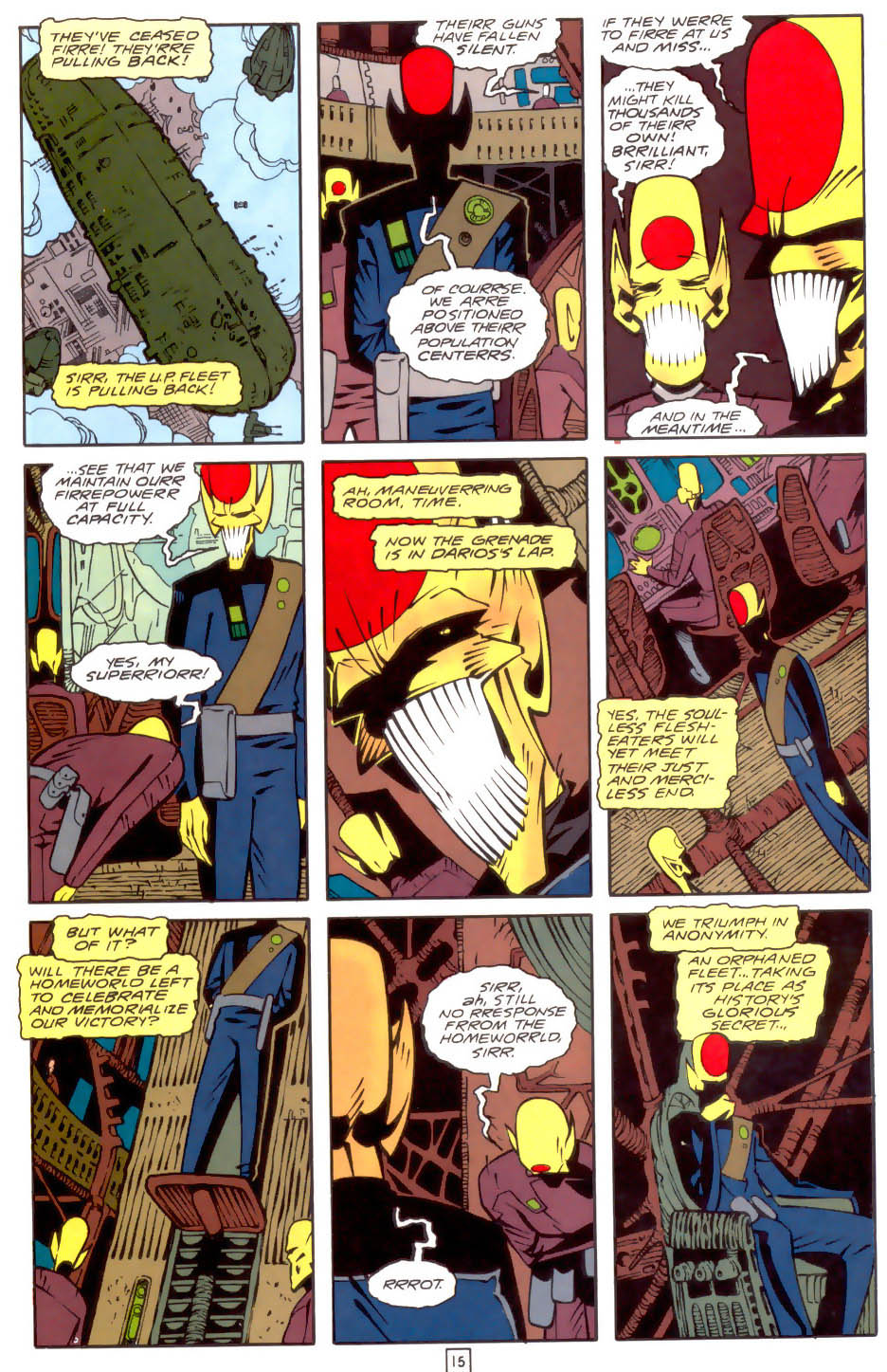 Legion of Super-Heroes (1989) 34 Page 15