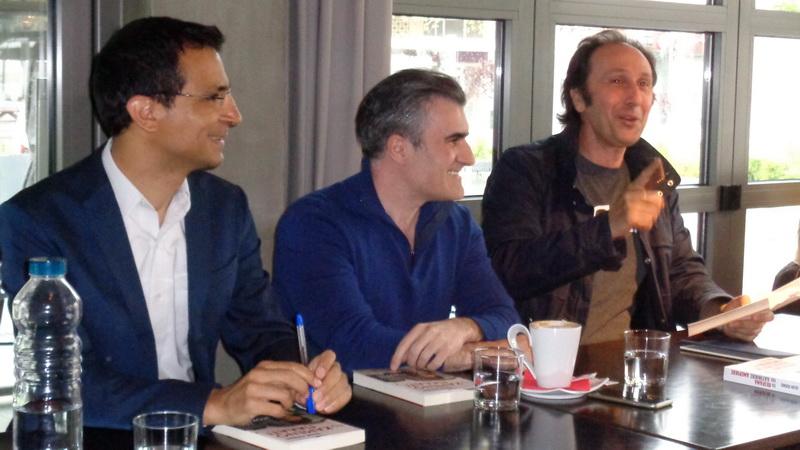 Το βιβλίο του δημοσιογράφου Ιάσονα Πιπίνη «Το Καμένο Παλάτι» παρουσιάστηκε στην Ορεστιάδα