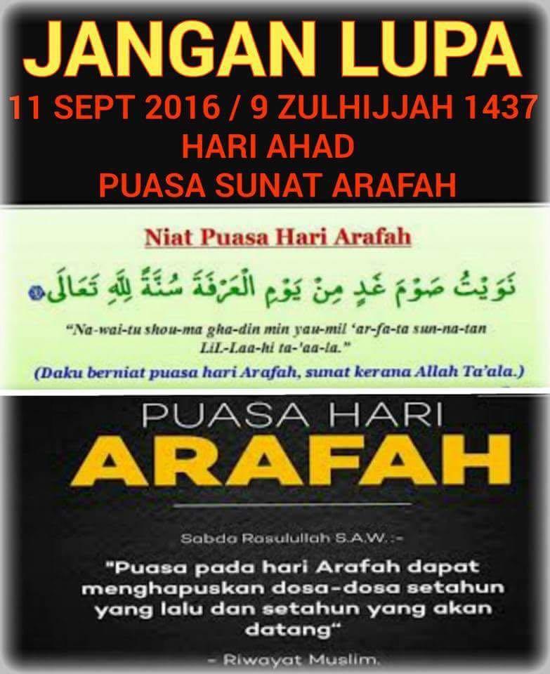 Pengertian dan Keutamaan Puasa Arafah 9 Dzulhijjah - Kapan...