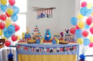Fiestas Infantiles Decoradas con La Gallina Pintadita