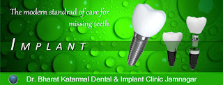 the modern standard of care for missing teeth by dental treatment implant at Jamnagar